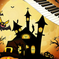 Halloween Piano Tiles