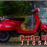 Scooter Bike Jigsaw