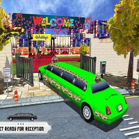 Wedding City Limo Car Driving Simulator Game